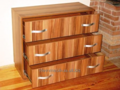 Dressers from a natural tree to the house