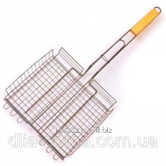Lattice for a grill with the wooden handle 110164