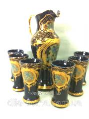Set for juice ceramic 3792