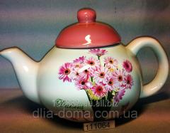 Teapot Flowers 111064