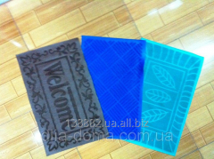 Rug of rubber 38*58 cm 103282