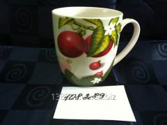 Чашка керамическая 350 мл Фрукты, овощи, ягоды