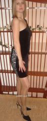 Evening dress Velvet Black 1193