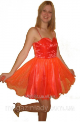 Short final dress with a corset Lada 111