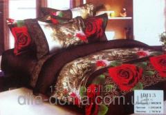 Family bed linen 3D - 100% cotton 112074