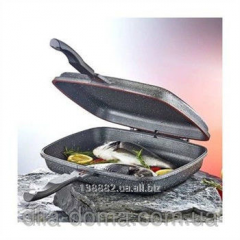 Frying pan grill bilateral Master Gril of