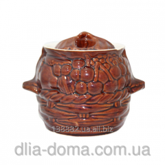 Pot for roasting of 0,75 l Grapes 50227