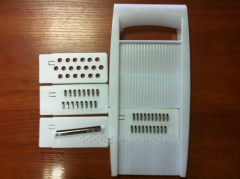 Vegetable cutter, grater, 4 pieces 111104