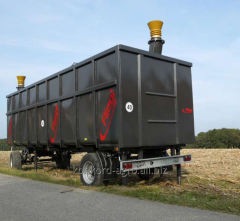 Mobile field container