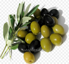 Black olives, very large. Caliber 60/70.