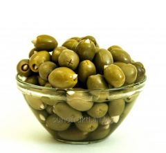 Olives with almonds Greece