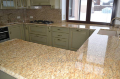 Table-top from granite