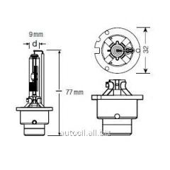 Lamp xenon D2R Osram Xenarc 85V 35W P32D-3 FS1