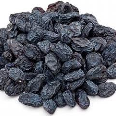 Изюм сушёный черный 0,5кг