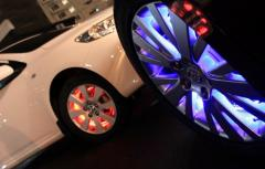 SMART WHEELS intellectual system of multi-color