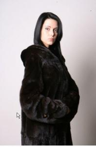 Coat mink M341