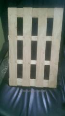 La tablilla para la costura del embalaje