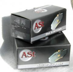 AST front brake shoes on OPEL VIVARO 2003-...