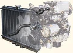 Radiators are automobile