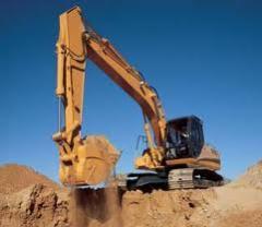 Radiators for excavators