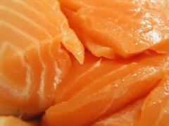 Филе лосося (сёмга) 2,5+ (весовая продукция).