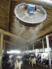 System of fogging for agro-industrial complex