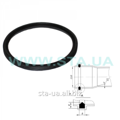 Sealing ring of 110 mm for PVC of pipes of the