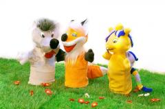 Кукольный театр (куклы-перчатки). Мини-театр №4