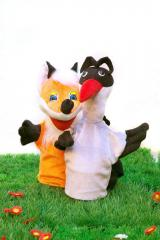 """Puppet theater """"""""Fox and"""