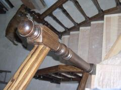 Ladders with zabezhny steps