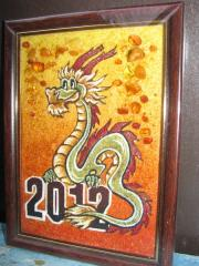 Gifts from amber for New 2012 of the Dragon