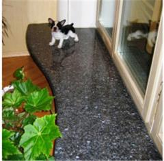 Window sills from granite. A wide choice of