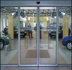 Двери автоматические DORMA.