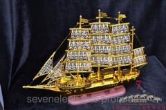 Figurine Ship (plastic) small lamp 38x50 55142821
