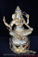 Feng shui goods Ganesh (metal) 27х17