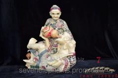 Figurine Ded with the grandma 27х23