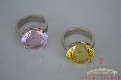 Кольцо с кристаллом D3,2