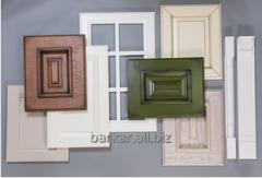 Furniture facades wooden