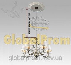 The electric elevator for chandeliers of 250 kg