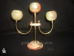 Подсвечник на 3 свечи (20 см.)