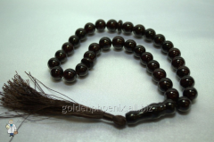 Beads from pomegranate of 10 mm.
