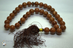 Beads from brown aventurine of 12 mm. 32735886