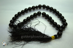 Beads from black agate of 12 mm. 32735888