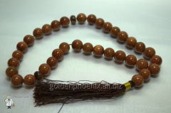 Beads from brown aventurine of 12 mm. 32735890