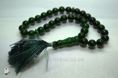 Beads from malachite of 12 mm. 32735892