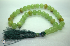 Beads from onyx of 12 mm.