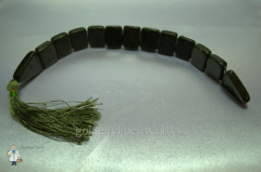 Beads from a jade cross over (20 mm.)