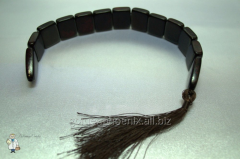 Beads from a jasper cross over (20 mm.)