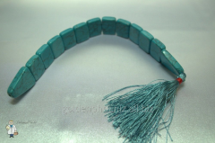 Beads from turquoise cross over (20 mm.)