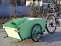 The cycle trailer - the economic cargo cart